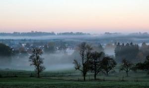 Risstal-Nebel Foto ivk