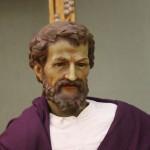 Josef - Figur aus der Krippenausstellung - Foto ivk