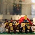 Lego Reiter mit BaWü-Flagge