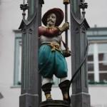 Brunnen in Ravensburg - Foto ivk