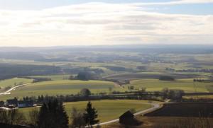 Blick gen Westen vom Bussen - Foto ivk