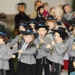 Musiker Krippenlandschaft im Chor - Foto ivk