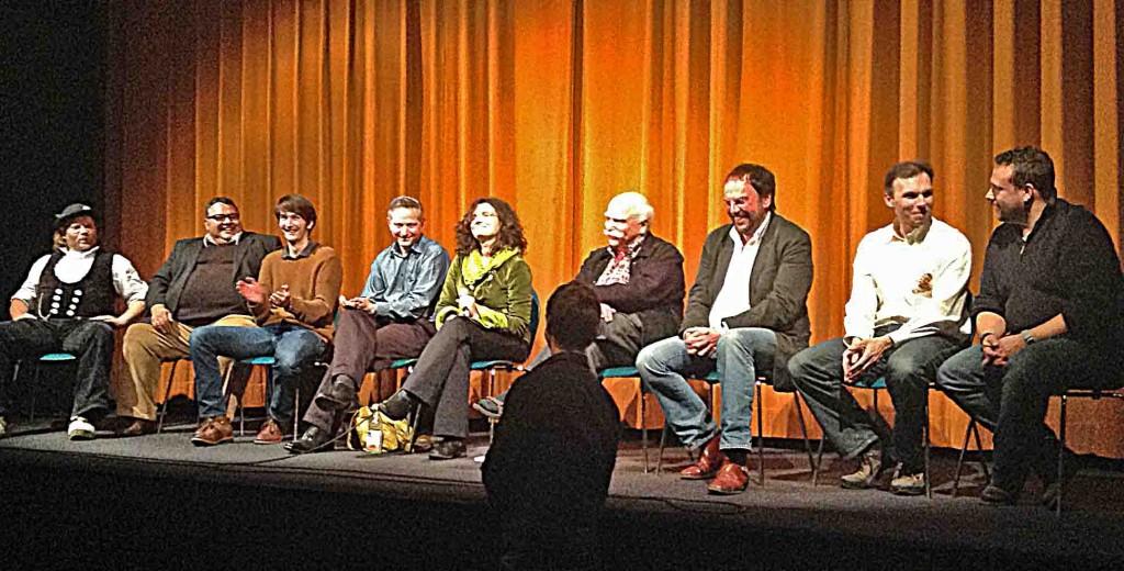 """Premiere in Weingarten des Dokumentarfilmes """"Von Narren und Hexen"""" von Danièle Bellemare Lee mit Interviewpartner"""