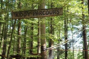 Kiddy Parcours beim Kletterpark Tannenbühl Bad Waldsee