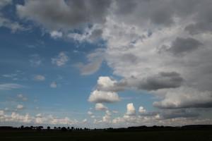 Wolken Cumulus Oberschwaben