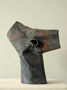 Anima, Bronze Objekt, 35 cm von Reiner Anwander