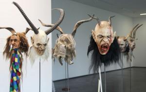 Werke von Miguel Walch in der Kunsthalle Rot - Foto ivk