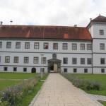 Blick auf das Schloss Messkirch