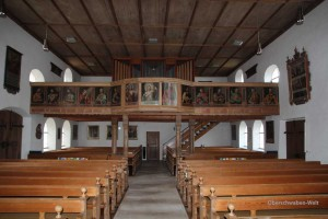 Michaelskirche-Wain-Empore
