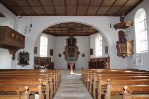 Michaelskirche-Wain-Innen