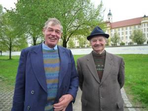 Hans Zell und Georg Baumeister
