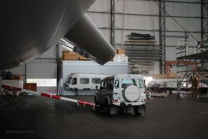 Zeppelin-Abschlepper