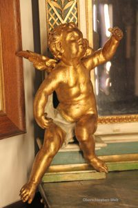 Barocker Engel im Museum Biberach
