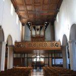 Blick auf die Orgel der Nicolaikirche